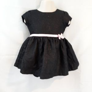 Carter's Sparkly Black Dress